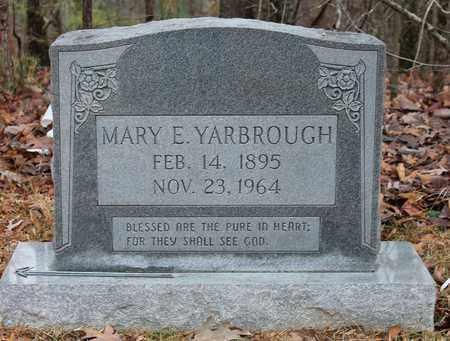 YARBROUGH, MARY E - Etowah County, Alabama   MARY E YARBROUGH - Alabama Gravestone Photos