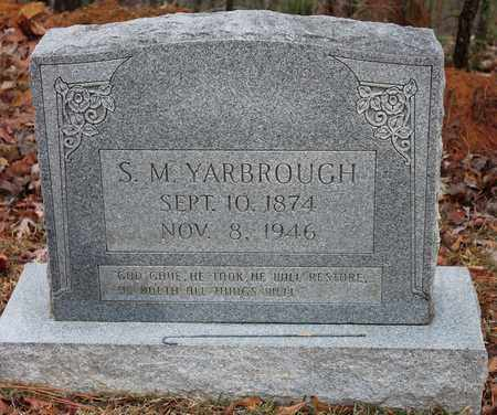 YARBROUGH, S M - Etowah County, Alabama | S M YARBROUGH - Alabama Gravestone Photos