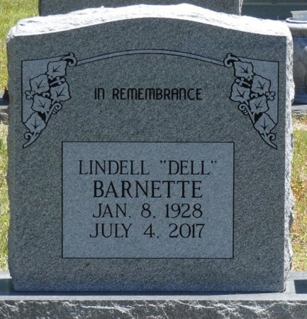 "BARNETTE, LINDELL ""DELL"" - Fayette County, Alabama | LINDELL ""DELL"" BARNETTE - Alabama Gravestone Photos"