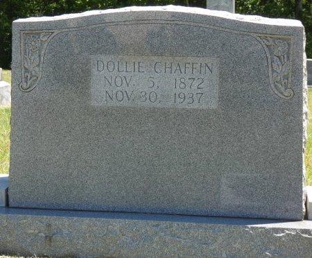 CHAFFIN, DOLLIE MOON - Fayette County, Alabama   DOLLIE MOON CHAFFIN - Alabama Gravestone Photos