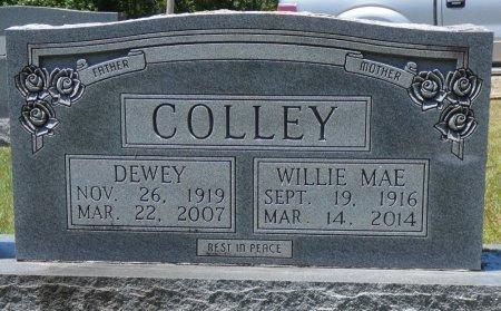 COLLEY, WILLIE MAE - Fayette County, Alabama | WILLIE MAE COLLEY - Alabama Gravestone Photos