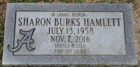 BURKS HAMLETT, SHARON - Fayette County, Alabama   SHARON BURKS HAMLETT - Alabama Gravestone Photos