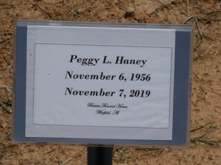 NIX HANEY, PEGGY L - Fayette County, Alabama | PEGGY L NIX HANEY - Alabama Gravestone Photos