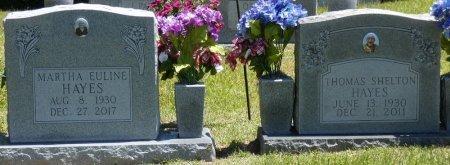 HAYES, MARTHA EULINE - Fayette County, Alabama | MARTHA EULINE HAYES - Alabama Gravestone Photos