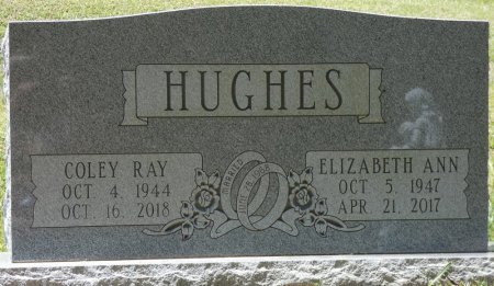 HUGHES, COLEY RAY - Fayette County, Alabama   COLEY RAY HUGHES - Alabama Gravestone Photos