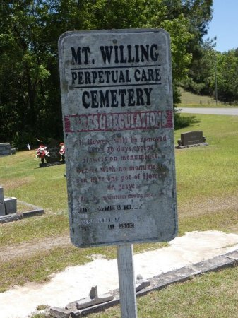 *MOUNT WILLING, CEMETERY - Fayette County, Alabama | CEMETERY *MOUNT WILLING - Alabama Gravestone Photos