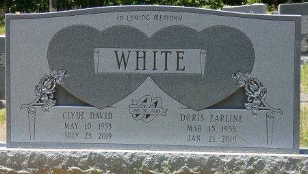 WHITE, DORIS EARLINE - Fayette County, Alabama | DORIS EARLINE WHITE - Alabama Gravestone Photos