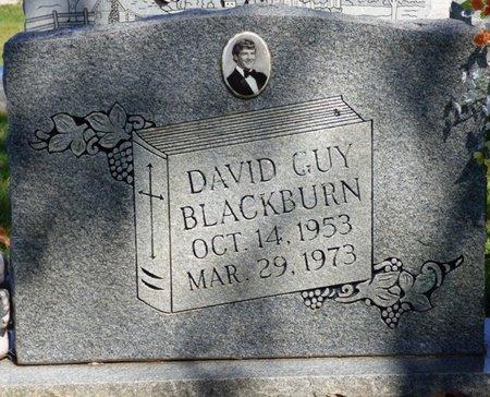 BLACKBURN, DAVID GUY - Franklin County, Alabama | DAVID GUY BLACKBURN - Alabama Gravestone Photos
