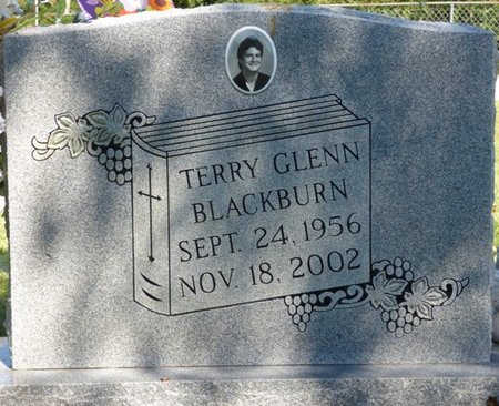 BLACKBURN, TERRY GLENN - Franklin County, Alabama | TERRY GLENN BLACKBURN - Alabama Gravestone Photos