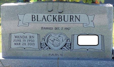 BLACKBURN, WANDA LEE - Franklin County, Alabama | WANDA LEE BLACKBURN - Alabama Gravestone Photos