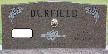 BURFIELD, J.V. WILFORD - Franklin County, Alabama | J.V. WILFORD BURFIELD - Alabama Gravestone Photos