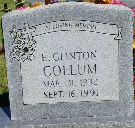 COLLUM, E. CLINTON - Franklin County, Alabama | E. CLINTON COLLUM - Alabama Gravestone Photos