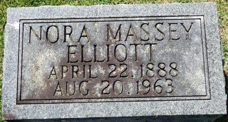 ELLIOTT, NORA - Franklin County, Alabama | NORA ELLIOTT - Alabama Gravestone Photos