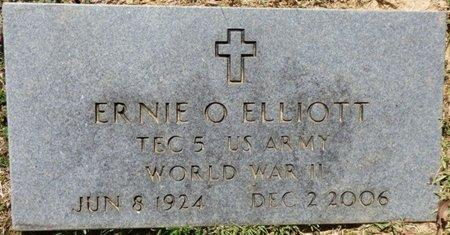ELLIOTT (VETERAN WWII), ERNIE OATHER - Franklin County, Alabama   ERNIE OATHER ELLIOTT (VETERAN WWII) - Alabama Gravestone Photos