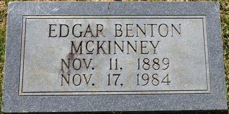 MCKINNEY, EDGAR BENTON - Franklin County, Alabama | EDGAR BENTON MCKINNEY - Alabama Gravestone Photos