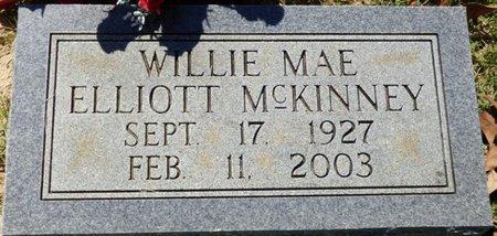 MCKINNEY, WILLIE MAE - Franklin County, Alabama | WILLIE MAE MCKINNEY - Alabama Gravestone Photos