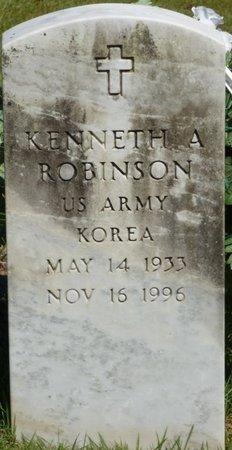 ROBINSON (VETERAN KOR), KENNETH ALVIN - Franklin County, Alabama | KENNETH ALVIN ROBINSON (VETERAN KOR) - Alabama Gravestone Photos