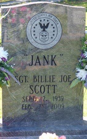 "SCOTT, BILLIE JOE ""JANK"" - Franklin County, Alabama | BILLIE JOE ""JANK"" SCOTT - Alabama Gravestone Photos"
