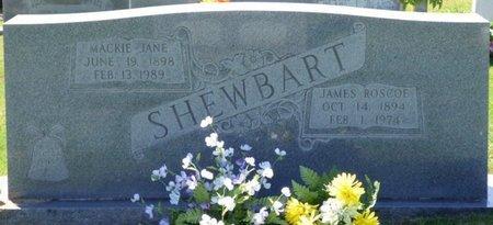 SHEWBART, MACKIE JANE - Franklin County, Alabama | MACKIE JANE SHEWBART - Alabama Gravestone Photos