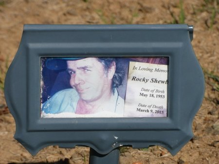 SHEWBART, ROCKY LEE - Franklin County, Alabama | ROCKY LEE SHEWBART - Alabama Gravestone Photos