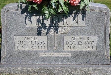 THORN, ARTHUR - Franklin County, Alabama | ARTHUR THORN - Alabama Gravestone Photos