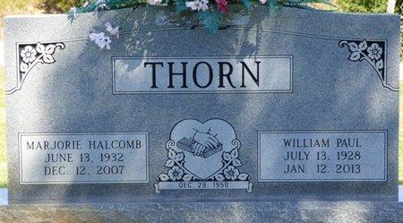 THORN, MARJORIE - Franklin County, Alabama | MARJORIE THORN - Alabama Gravestone Photos