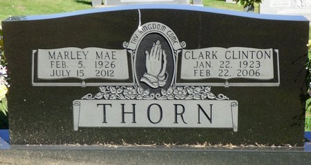 THORN, MARLEY MAE - Franklin County, Alabama | MARLEY MAE THORN - Alabama Gravestone Photos