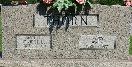THORN, ONIECE - Franklin County, Alabama | ONIECE THORN - Alabama Gravestone Photos