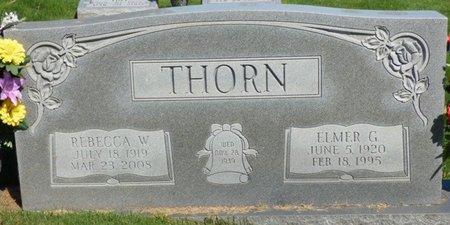 "THORN, REBECCA ETHYL ""BEC"" - Franklin County, Alabama | REBECCA ETHYL ""BEC"" THORN - Alabama Gravestone Photos"