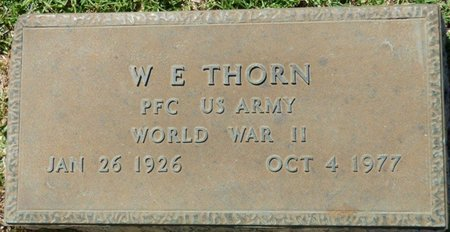 THORN (VETERAN WWII), WILLIAM E - Franklin County, Alabama | WILLIAM E THORN (VETERAN WWII) - Alabama Gravestone Photos