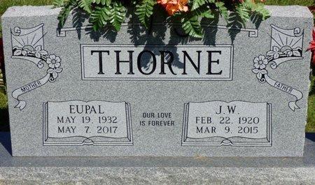 THORNE, EUPAL - Franklin County, Alabama   EUPAL THORNE - Alabama Gravestone Photos