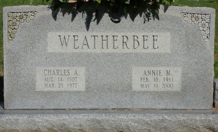 WEATHERBEE, CHARLES A - Franklin County, Alabama | CHARLES A WEATHERBEE - Alabama Gravestone Photos