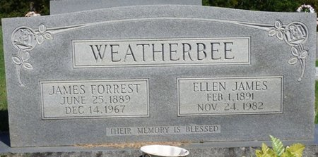 WEATHERBEE, JAMES FORREST - Franklin County, Alabama | JAMES FORREST WEATHERBEE - Alabama Gravestone Photos