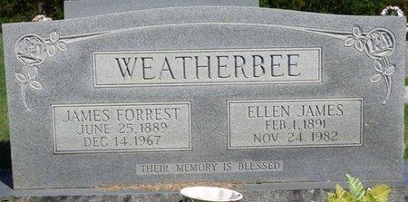 WEATHERBEE, ELLEN - Franklin County, Alabama   ELLEN WEATHERBEE - Alabama Gravestone Photos