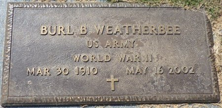 WEATHERBEE (VETERAN WWII), BURL BLANTON - Franklin County, Alabama | BURL BLANTON WEATHERBEE (VETERAN WWII) - Alabama Gravestone Photos