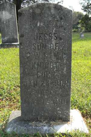 KNIGHT, JESSE - Jackson County, Alabama   JESSE KNIGHT - Alabama Gravestone Photos