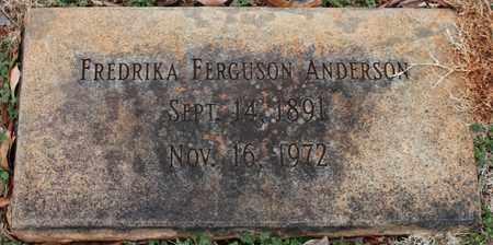 ANDERSON, FREDRIKA - Jefferson County, Alabama | FREDRIKA ANDERSON - Alabama Gravestone Photos