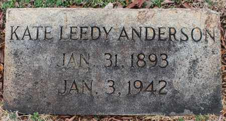 ANDERSON, KATE - Jefferson County, Alabama | KATE ANDERSON - Alabama Gravestone Photos