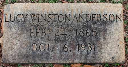WINSTON ANDERSON, LUCY - Jefferson County, Alabama | LUCY WINSTON ANDERSON - Alabama Gravestone Photos