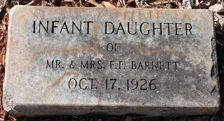 BARNETT, INFANT - Jefferson County, Alabama | INFANT BARNETT - Alabama Gravestone Photos