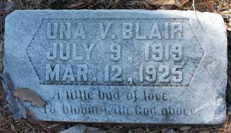 BLAIR, UNA V - Jefferson County, Alabama   UNA V BLAIR - Alabama Gravestone Photos