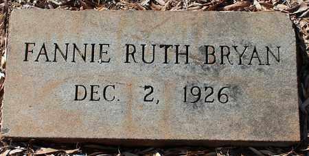 BRYAN, FANNIE RUTH - Jefferson County, Alabama | FANNIE RUTH BRYAN - Alabama Gravestone Photos