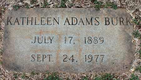 ADAMS BURK, KATHLEEN - Jefferson County, Alabama | KATHLEEN ADAMS BURK - Alabama Gravestone Photos