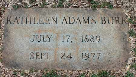 ADAMS BURK, KATHLEEN - Jefferson County, Alabama | KATHLEEN ADAMS BURK - Alabama Gravestone Photos