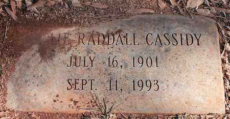 RADDALL CASSIDY, NELLIE - Jefferson County, Alabama | NELLIE RADDALL CASSIDY - Alabama Gravestone Photos