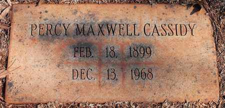 CASSIDY, PERCY MAXWELL - Jefferson County, Alabama | PERCY MAXWELL CASSIDY - Alabama Gravestone Photos