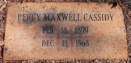 CASSIDY, PERCY MAXWELL - Jefferson County, Alabama | PERCY MAXWELL CASSIDY - Alabama Gravestone Photos