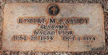 CASSIDY (VETERAN), ROBERT M - Jefferson County, Alabama | ROBERT M CASSIDY (VETERAN) - Alabama Gravestone Photos