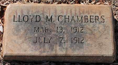 CHAMBERS, LLOYD M - Jefferson County, Alabama | LLOYD M CHAMBERS - Alabama Gravestone Photos
