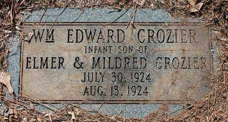 CROZIER, WILLIAM EDWARD - Jefferson County, Alabama | WILLIAM EDWARD CROZIER - Alabama Gravestone Photos
